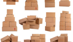 Various Boxes For Moving