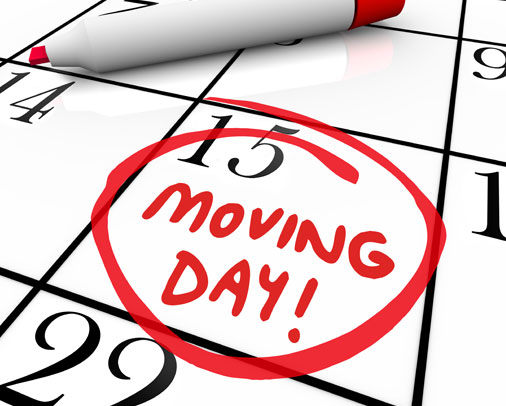 How to choose the date of your moving